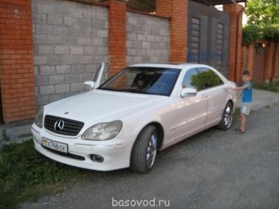 Шевроле шеви ван 1994 г 5,7 бензин метан - Mercedes-Benz S 600 (8).JPG